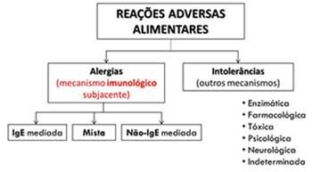 Alergias olheiras alimentares por causadas